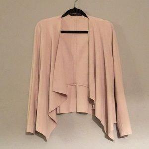 Zara Open Front, Drape Jacket